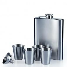 Set pljoska + 4 čašice