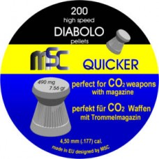 Diabolo MSC - 4.5 Špic Point Airgun hobby 500kom