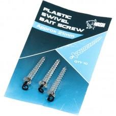 Nash Plastic Swivel Bait Screw