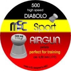 Diabolo MSC - 4.5 Tupe Sport Airgun training 500kom