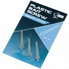 Nash Plastic Bait Screw 21mm