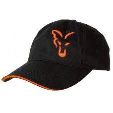 Kapa Fox Black & Orange Baseball Cap