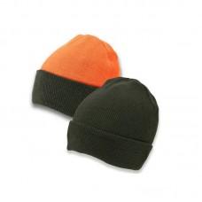 Lovačka zimska kapa Lodenhut  2 strane (Zelena + Narančasta)