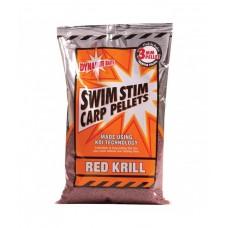 Pelete Dynamite Baits Swim Stim Red Krill Pellets 3mm 900g