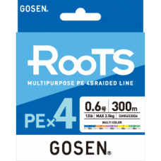 Upredenica Gosen RooTS PE X4 Multicolor 300 m