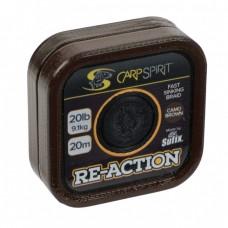 Špaga za predvez Carp Spirit Reaction Braid 20m Camo Brown