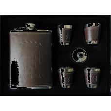 Set pljoska + čašice (motiv Hrvatska)
