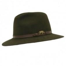 Lovački šešir Lodenhut s kožnom trakom - Vepar