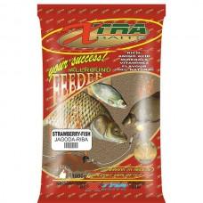 Hrana XTRA FEEDER STRAWBERRY-FISH 1KG