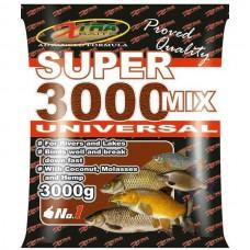 Hrana XTRA SUPER 3000 MIX 3KG UNIVERZAL